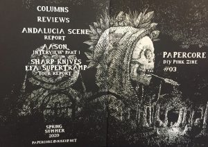 cover of papercore #3